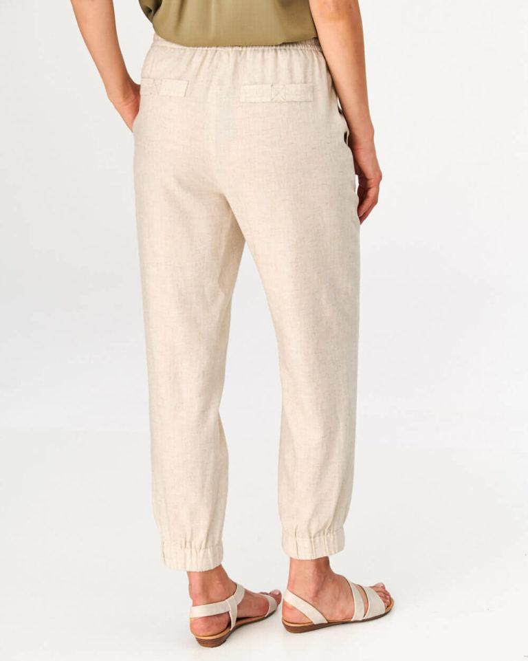 Pantaloni bej casual