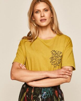Tricou din bumbac cu grafică imprimată